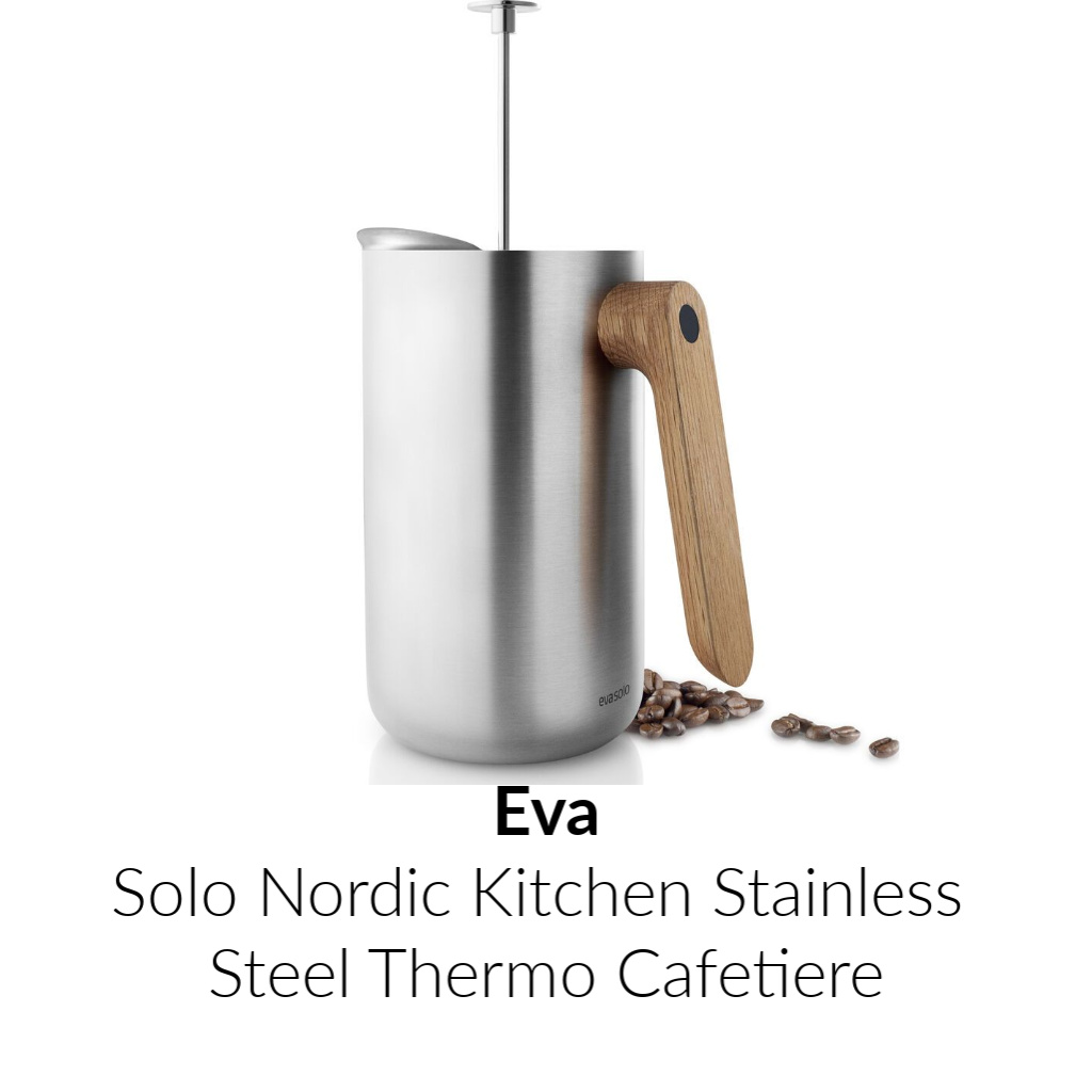 Eva Solo Nordic Kitchen Stainless steel Thermo Cafetiere | 1.0L