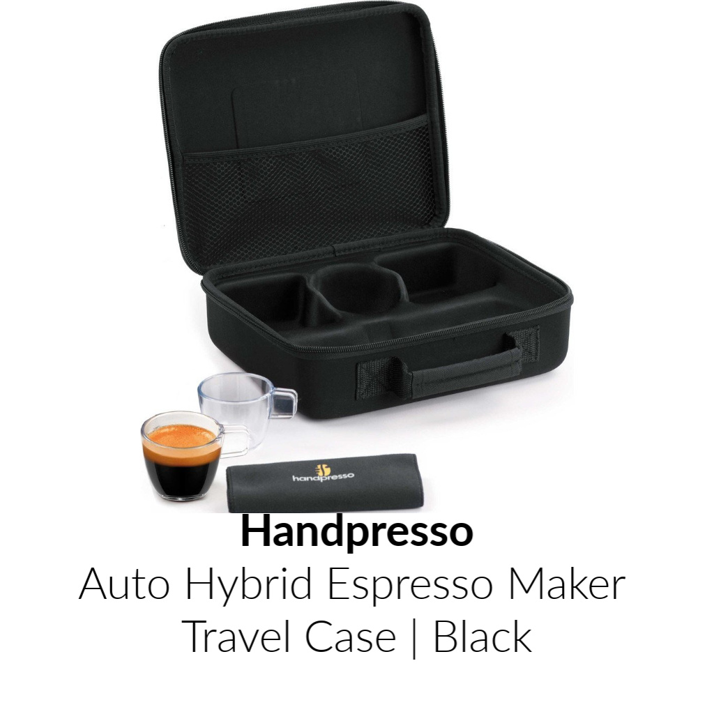 Handpresso Auto Hybrid Espresso Maker Travel Case | Black