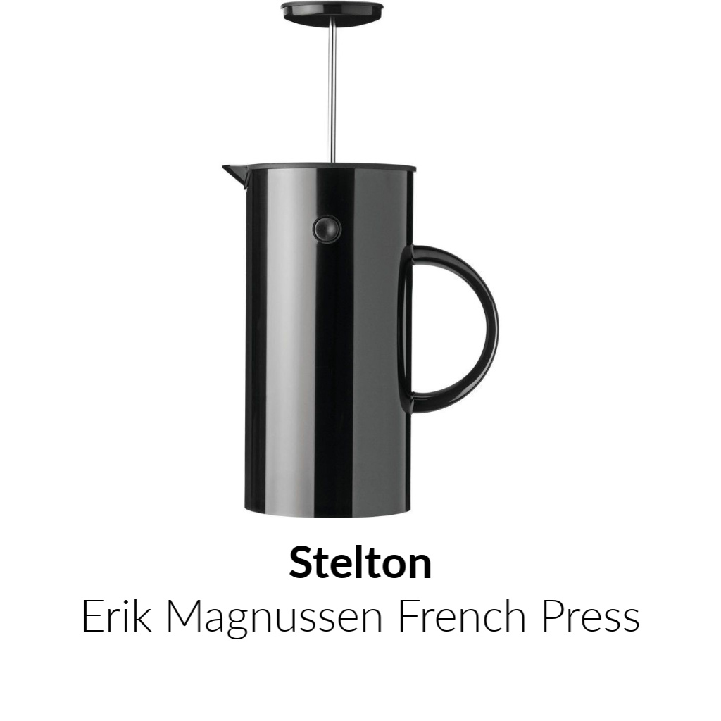 Stelton Erik Magnussen French Press | Black