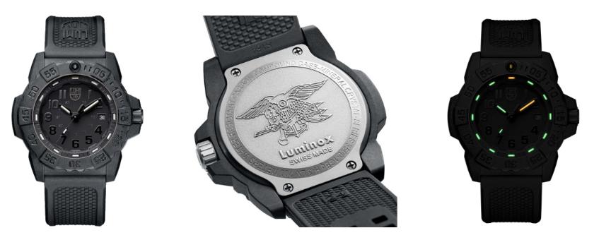 Luminox Navy Seal 3500 Series Watch Grid
