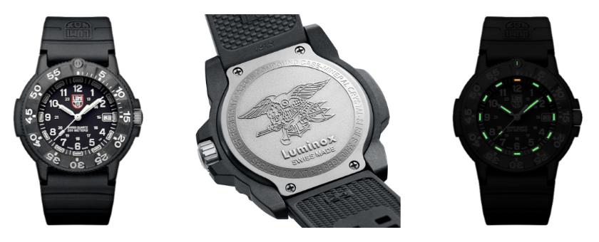 Luminox Navy Seal Original Automatic 3001 Watch Grid