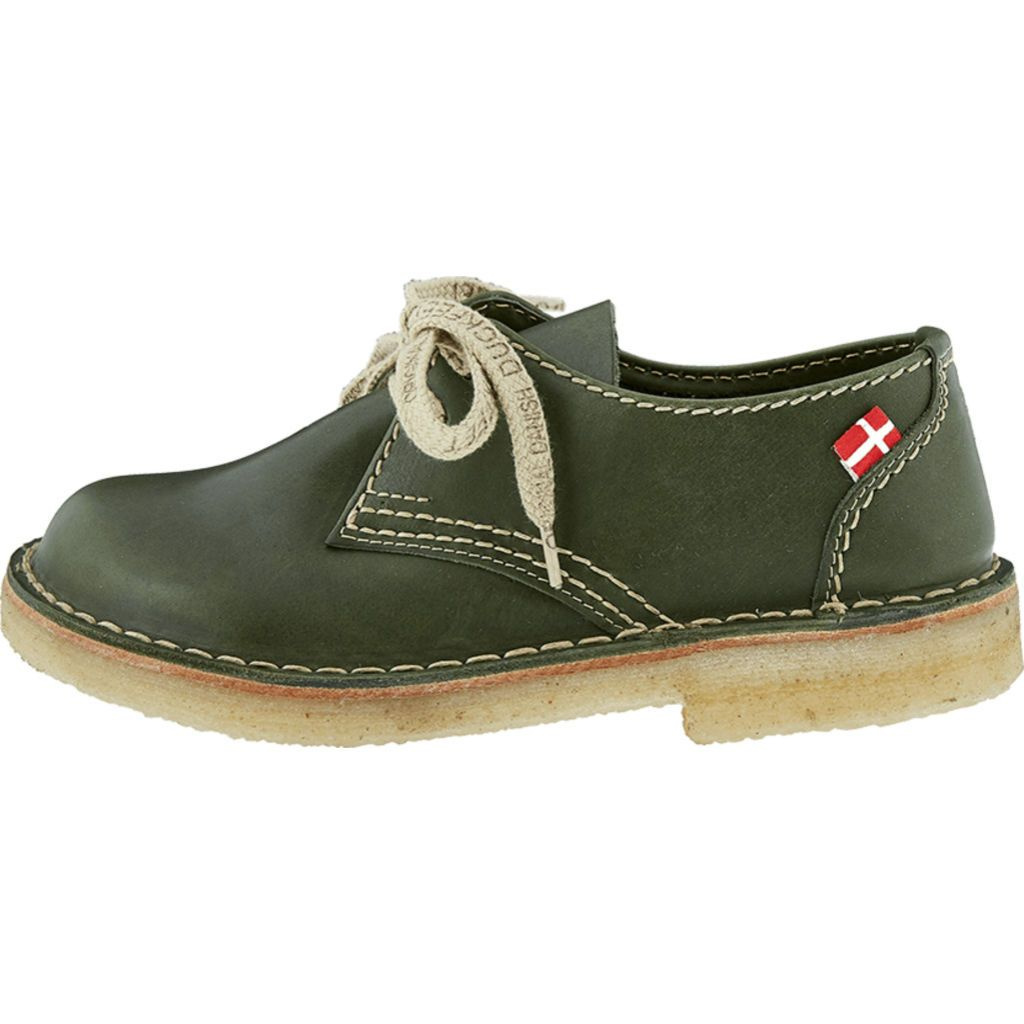 Duckfeet Jylland Lace-Up | Green