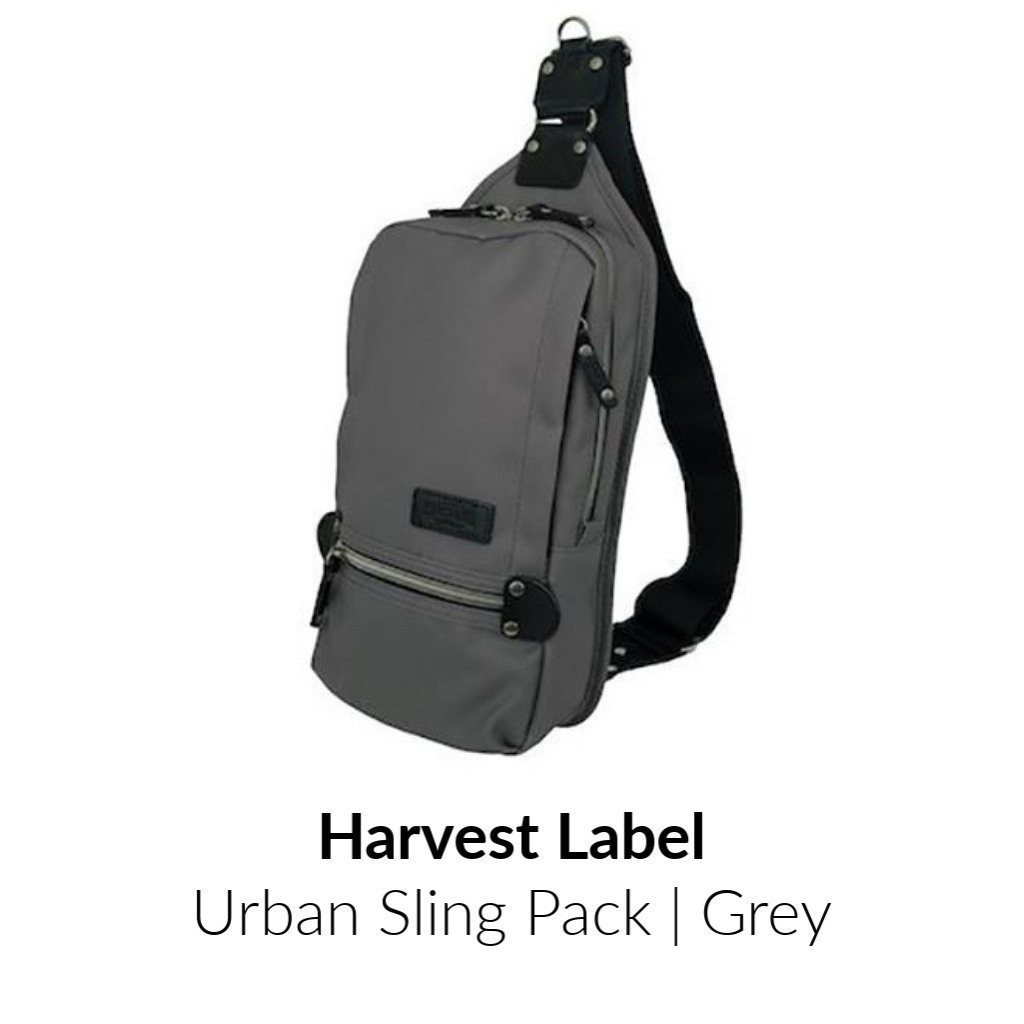 Harvest Label Urban Sling Pack | Grey