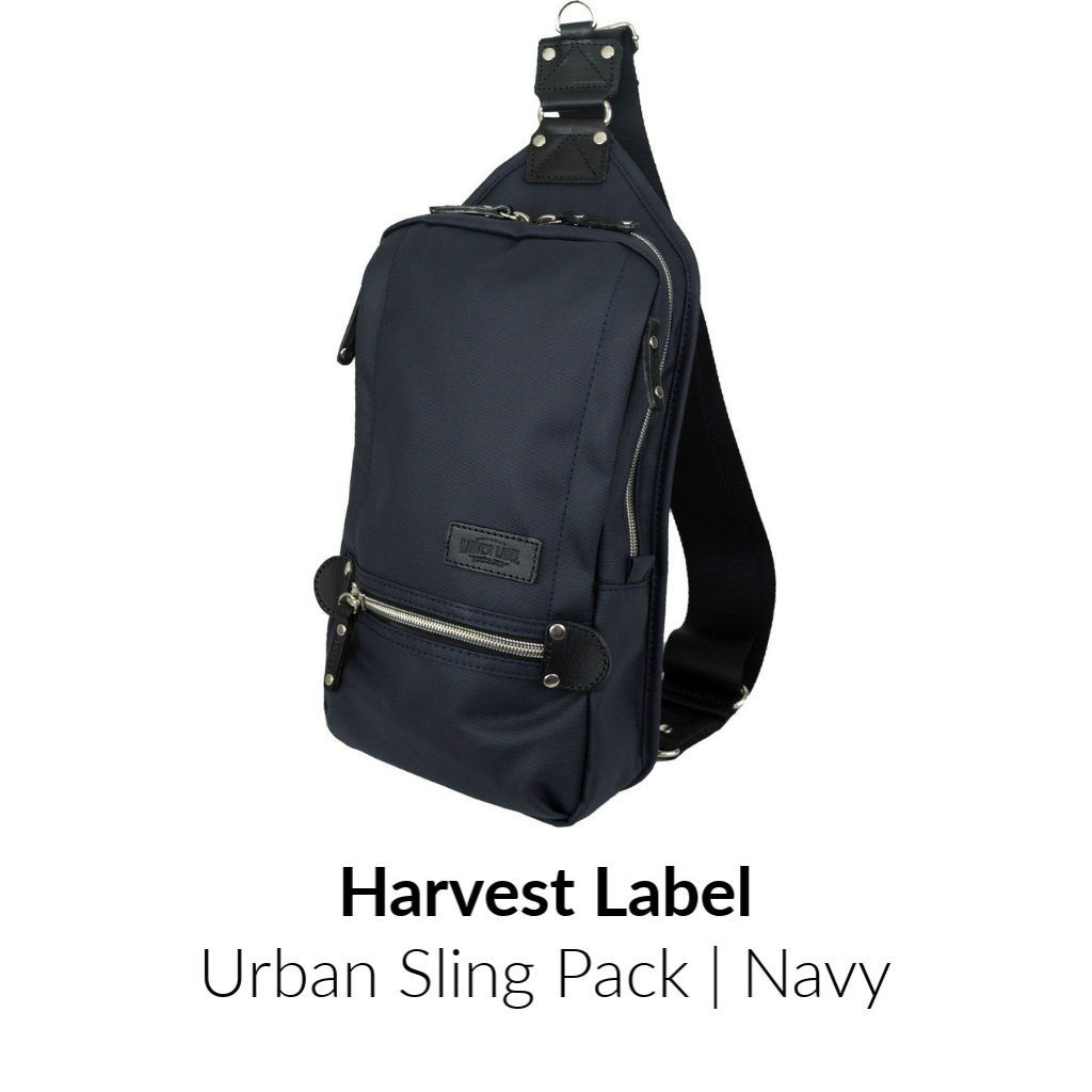 Harvest Label Urban Sling Pack | Navy
