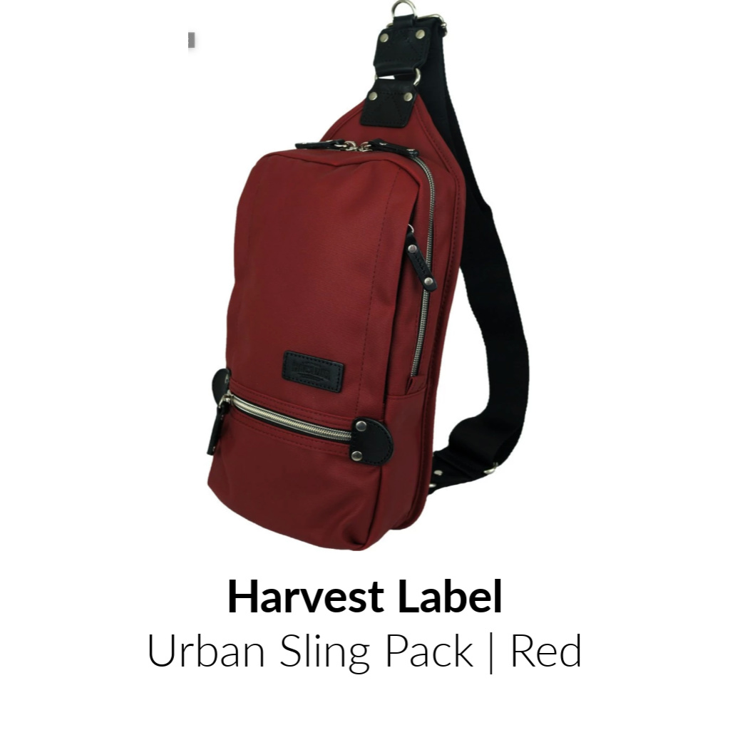 Harvest Label Urban Sling Pack | Red