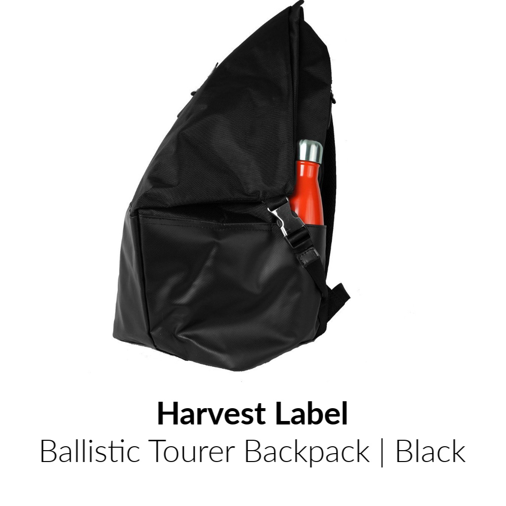 Harvest Label Ballistic Tourer Backpack | Black