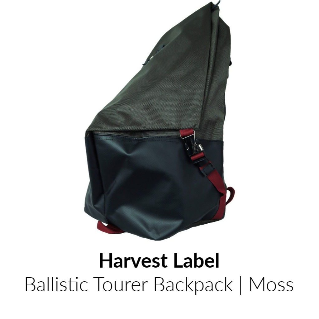 Harvest Label Ballistic Tourer Backpack | Moss