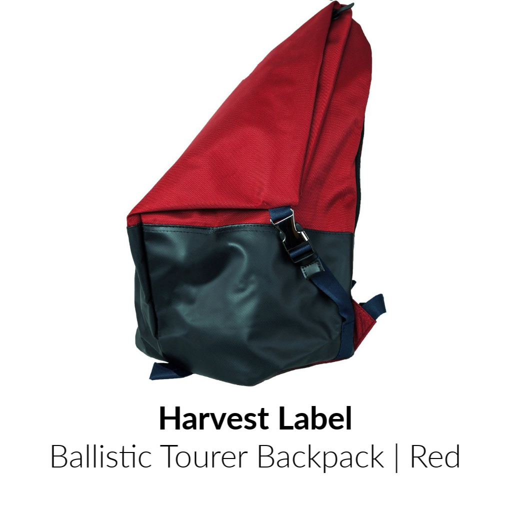 Harvest Label Ballistic Tourer Backpack | Red