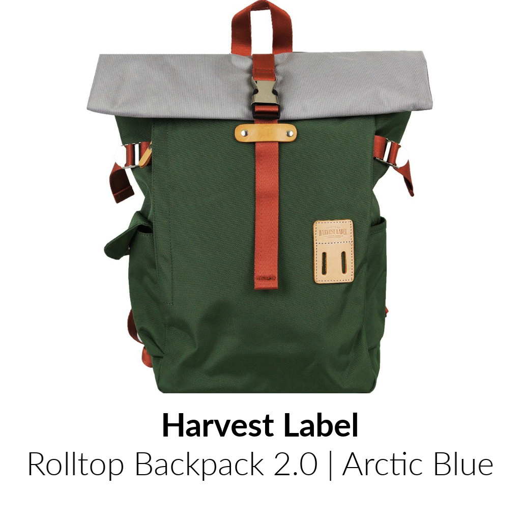 Harvest Label Rolltop Backpack 2.0 | Olive