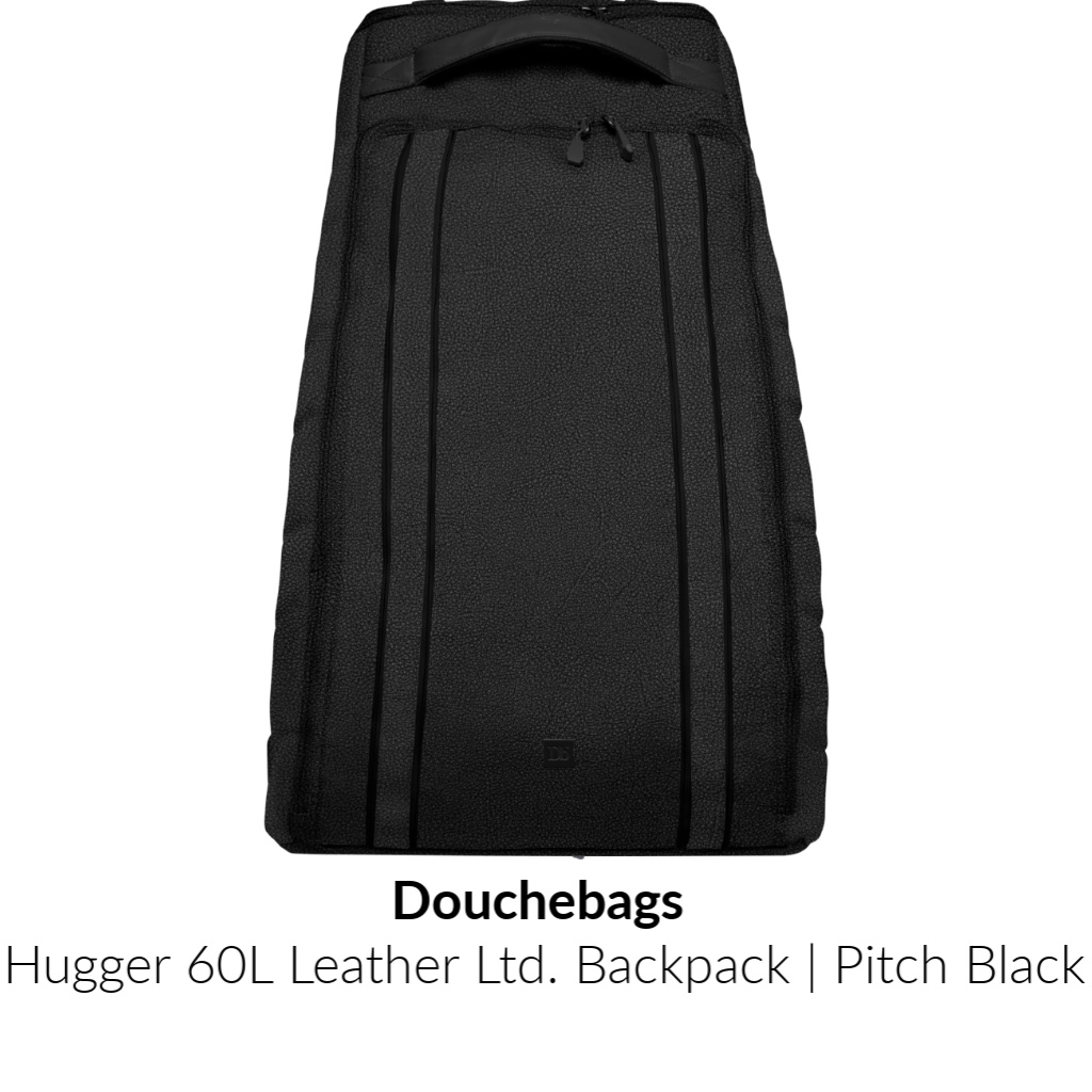 Douchebags Hugger 60L Leather Ltd. Backpack