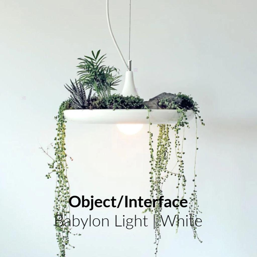 Object/Interface Babylon Light | White