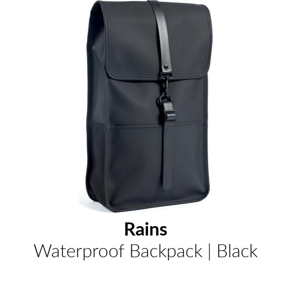 Rains-Waterproof-Backpack-Black