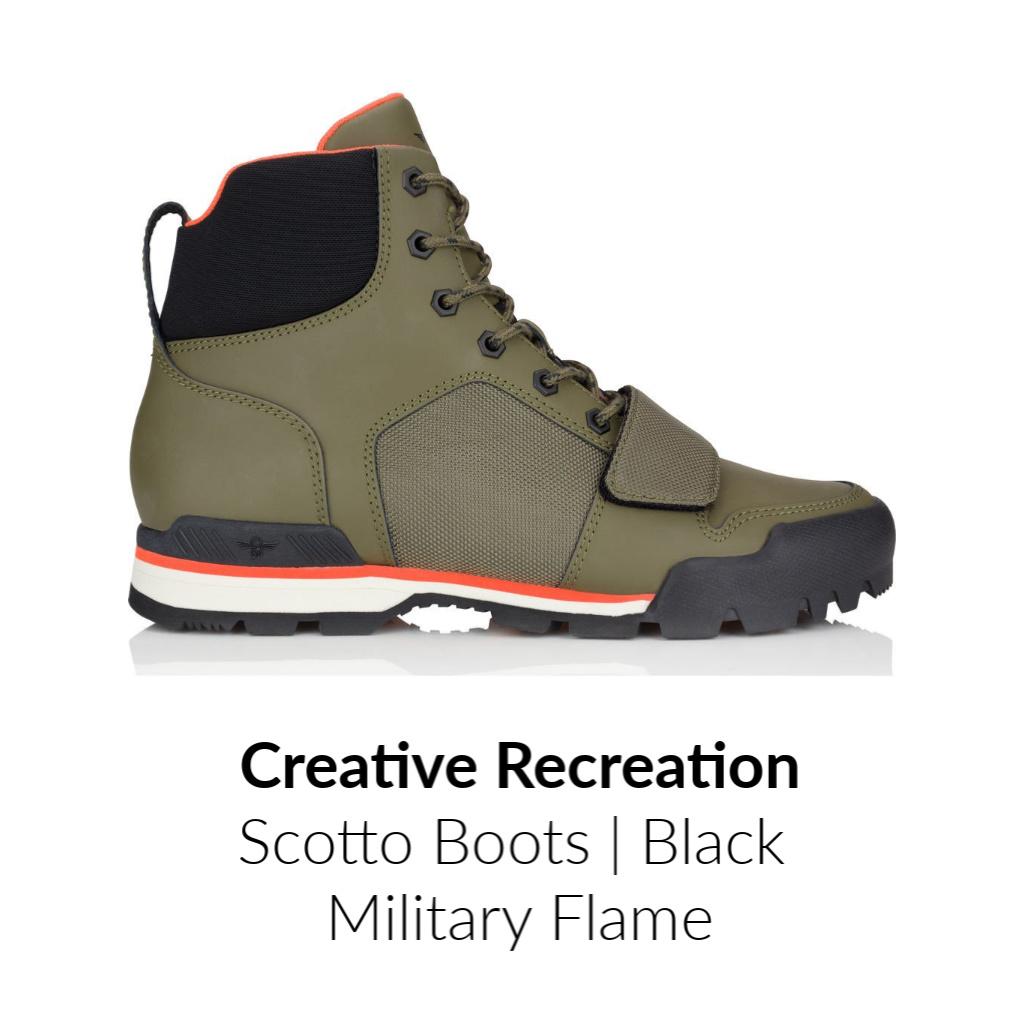 Creative Rec-Scott-Shoes-Black-Military
