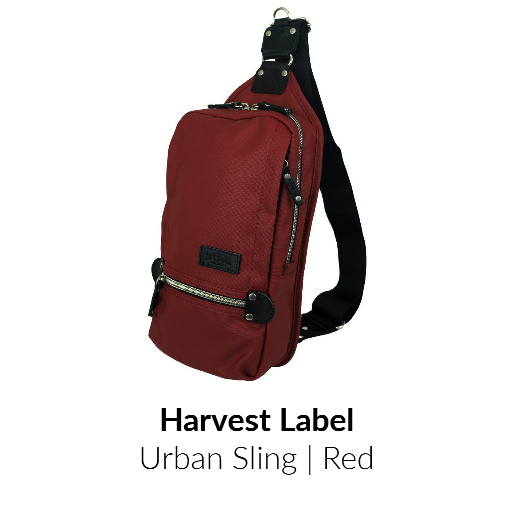 Harvest Label Urban Sling Pack | Red
